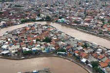 FOTO: Banjir Jakarta dari Udara yang Dipantau Kepala BNPB dan Anies Baswedan