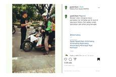 Viral Petugas Parkir Lakukan Pungli ke Pengemudi Ojol, Ini Penjelasannya