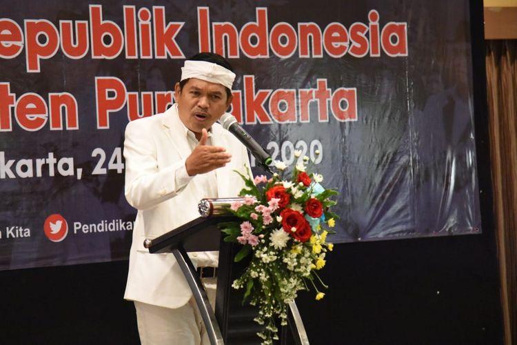 Anggota DPR Dedi Mulyadi