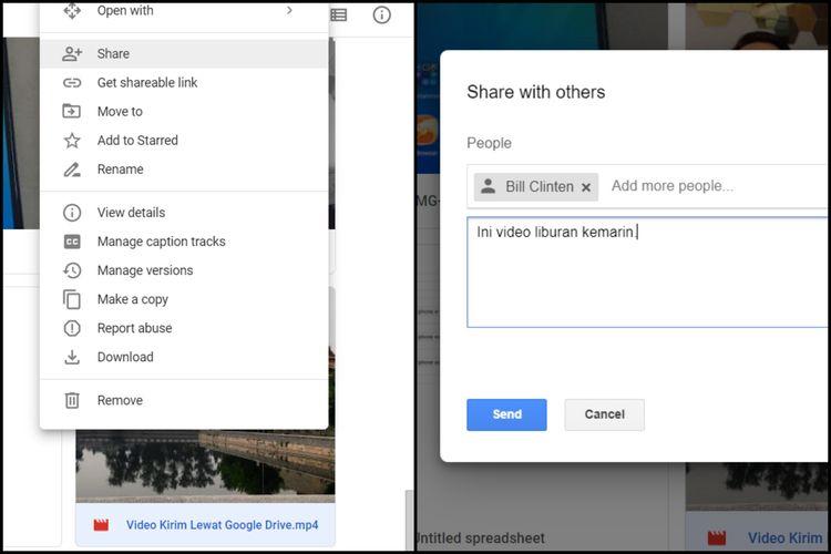 Cara Berbagi Dokumen Yang Disimpan Di Google Drive Halaman All Kompas Com