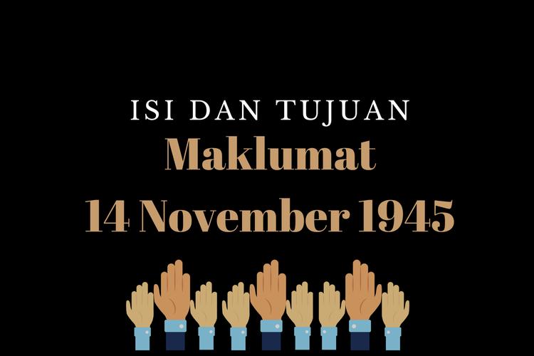 Ilustrasi Maklumat 14 November 1945