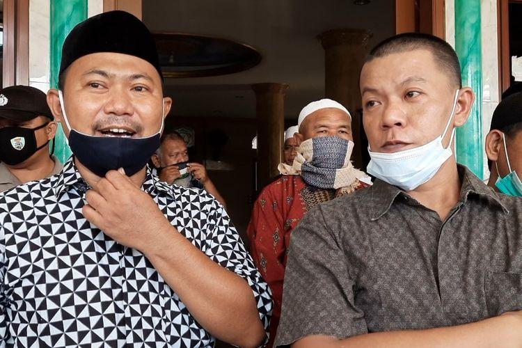 Pengurus tempat ibadah di Cengkareng, Jakarta Barat.