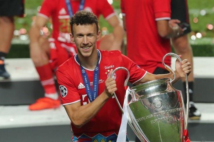 Ivan Perisic kala membawa Bayern Muenchen menjuarai Liga Champions 2019-2020.