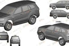 Sketsa Desain Baru Ford Everest