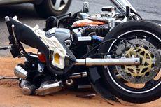 Ikut 'Touring' Motor, Bupati dan Kapolres Polman Tabrakan