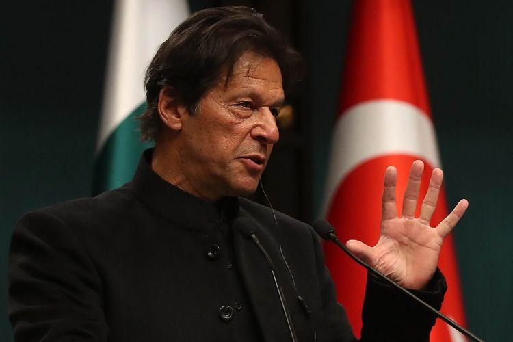 PM Pakistan Imran Khan.