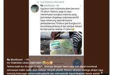 Viral, Bungkus Indomie Berusia 19 Tahun di Pantai, Ini Komentar Pemkab Malang