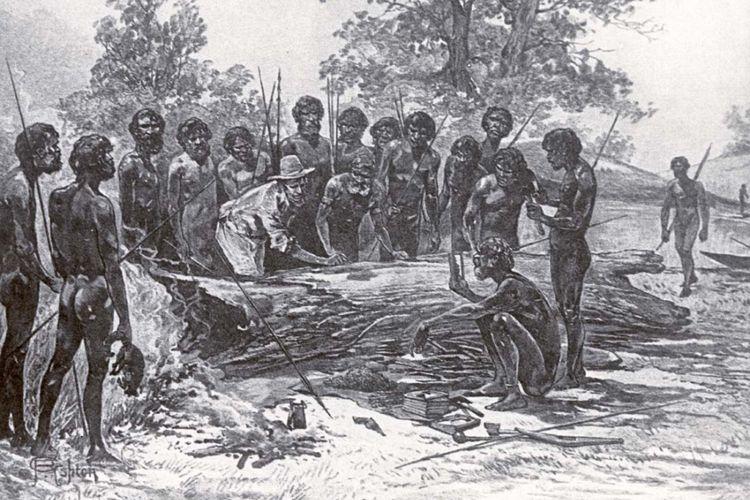 Ilustrasi Perjanjian Batman (1886)