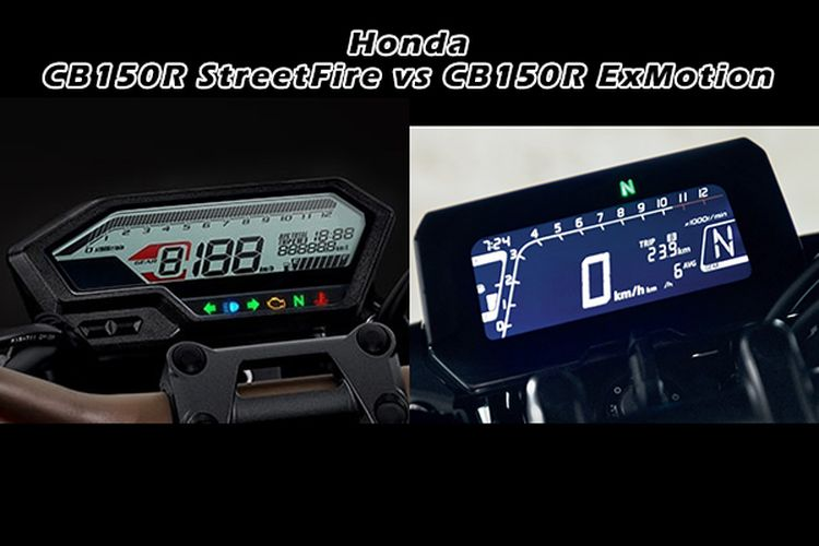 Honda CB150R StreetFire vs CB150R ExMotion