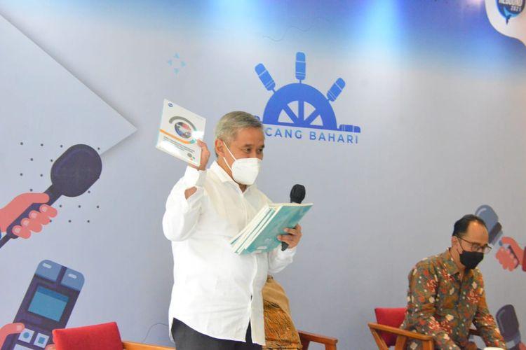 Kegiatan Bincang Bahari Episode I yang diselenggarakan di Media Center Kementerian Kelautan dan Perikanan (KKP) pada Selasa (15/6/2021).