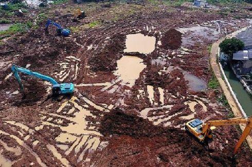 Pembangunan Waduk Cimanggis Diharapkan Selesai Sebelum Musim Hujan