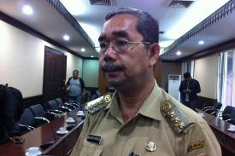 Wali Kota Jakarta Pusat Mangara Pardede.