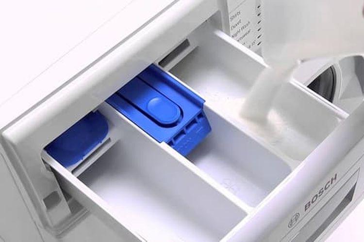 Laci mesin cuci.