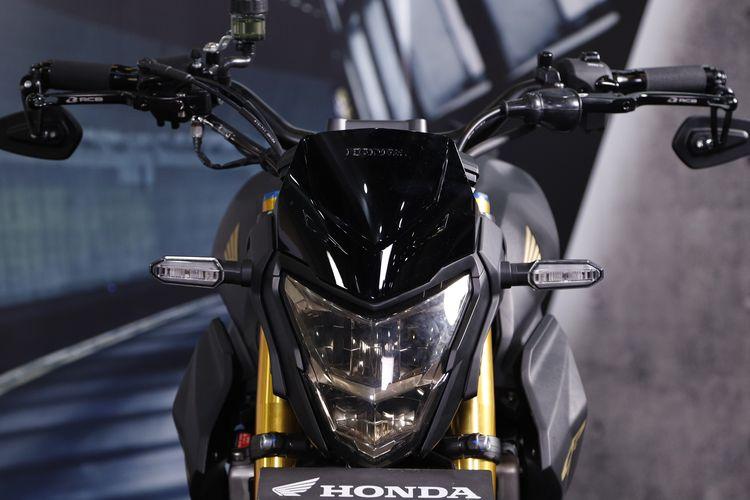 Modifikasi Honda All New CB150R StreetFire dengan konsep streetfighter