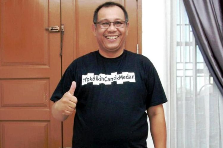 Plt Wali Kota Medan Akhyar Nasution dinyatakan sembuh Covid-19, Kamis (20/8/2020)