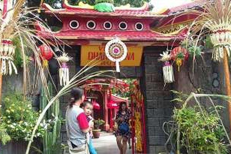 Vihara Dharmayana Jalan Blambangan Kuta Bali.