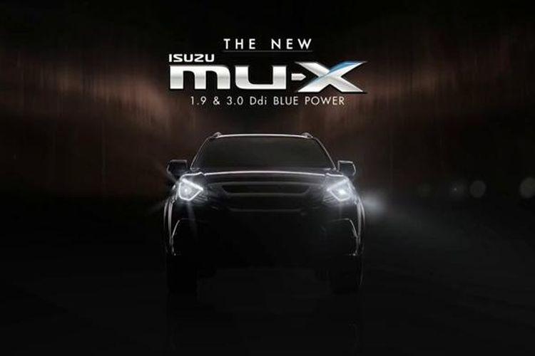 Isuzu MU-X siap menerima facelift.