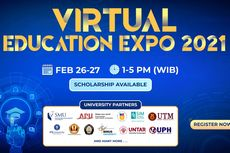 Ikuti Virtual Education Expo: Bedah Jurusan dan Beasiswa Kuliah 2021