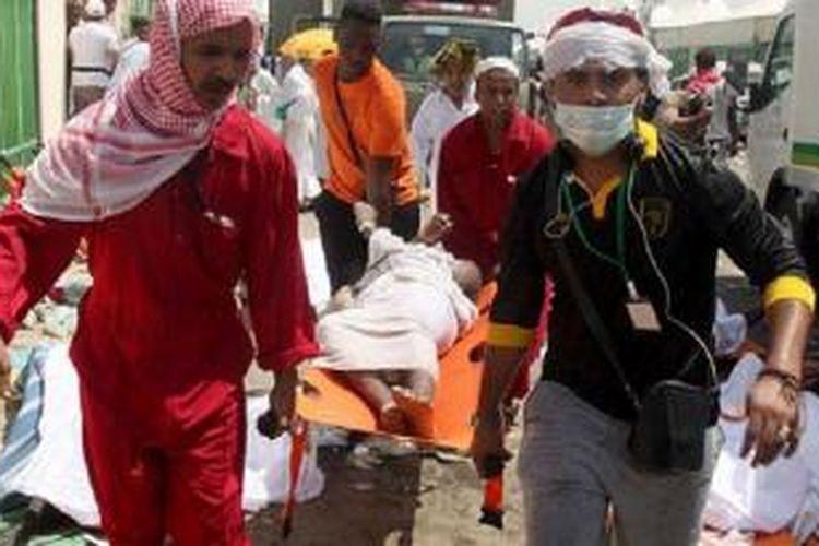 Lebih dari sejuta jemaah haji dari luar Saudi Arabia datang ke Mekah untuk menunaikan ibadah haji setiap tahunnya.