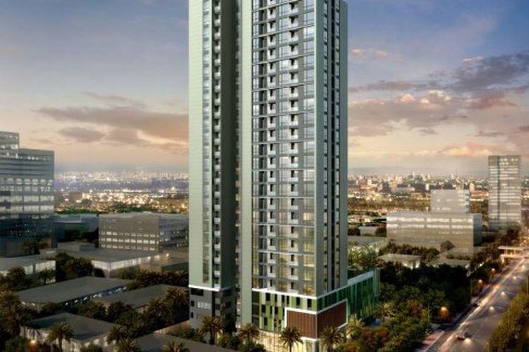 Salah satu unit kondominium di Bangkok, Thailand.