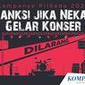 INFOGRAFIK: Sanksi bagi Pihak yang Gelar Konser Saat Pilkada 2020