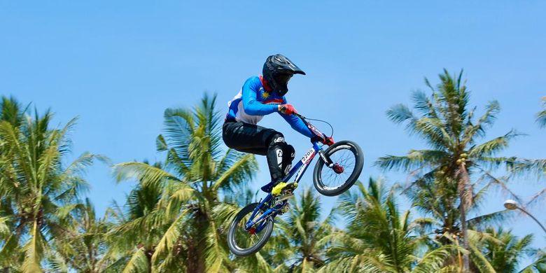 Banyuwangi International Bicylce Motocross (BMX) Competiton 2019 menjadi satu-satunya ajang balap sepeda di Indonesia yang mendapat hak mengelar kelas Hors Class dari Union Cycliste International (UCI)