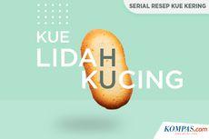INFOGRAFIK: Resep Kue Lidah Kucing