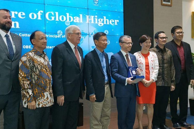 President University mengadakan seminar bertema Masa Depan Perguruan Tinggi Menghadapi Industri 4.0 di President Lounge, Jakarta (4/9/2018).