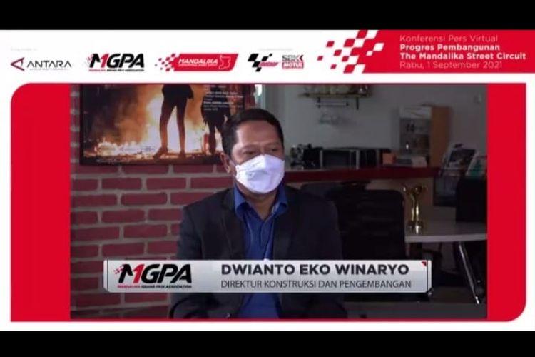 Dwianto Eko Winaryo Direktur Kontruksi dan Pengembangan MGPA