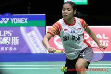 Indonesia Open 2019, Gregoria Mariska Lolos ke Babak Kedua