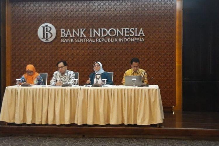 Bank Indonesia (BI) merilis bahwa defisit transaksi berjalan pada kuartal II 2018 mengalami peningkatan sebesar 8 miliar dollar AS. Foto diambil Jumat (10/8/2018).
