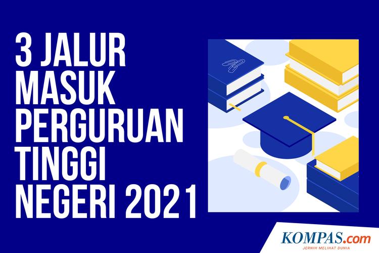 3 Jalur Masuk Perguruan Tinggi Negeri 2021