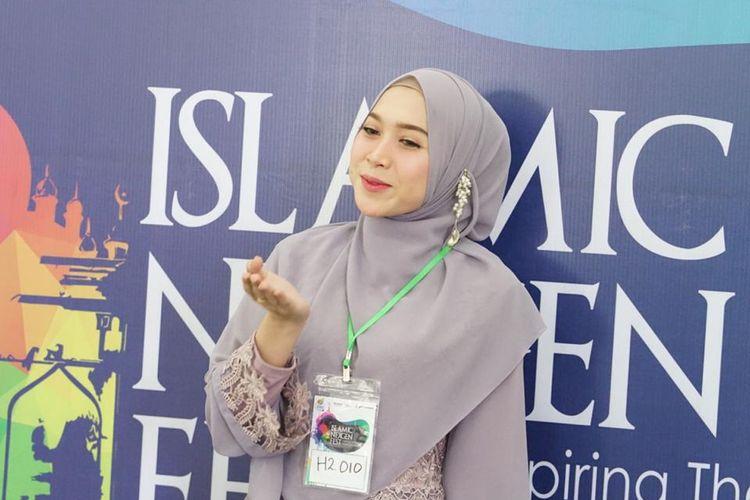 Salah satu peserta audisi Islamic Nexgen Fest di Medan, Sumatera Utara, Minggu (19/5/2019). Islamic Nexgen Fest adalah ajang pencarian Bakat dari Kementerian BUMN.