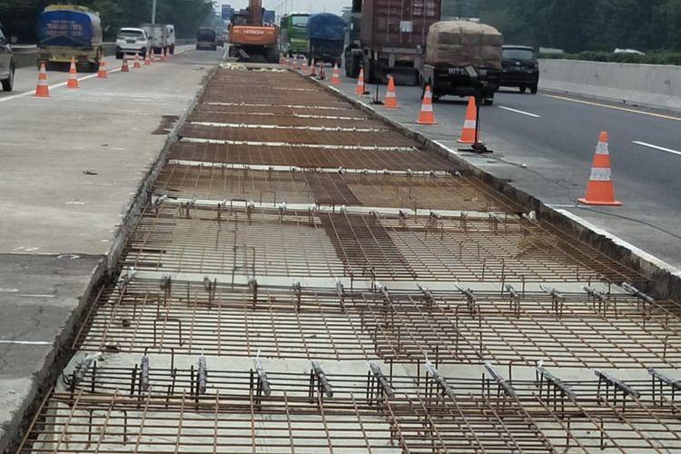 Tol Jagorawi kembali dilakukan perbaikan mulai 6 sampai 12 September 2020.