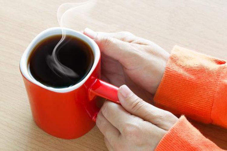 Ilustrasi kafein. Konsumsi kafein terlalu berlebihan bisa memicu risiko kemandulan.