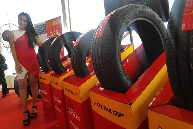 Dunlop menguji coba ban terbaru SP Sport LM705