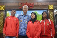 Jadi Juara Dunia Para Atletik, Karisma Langsung Bertemu Gubernur Jateng