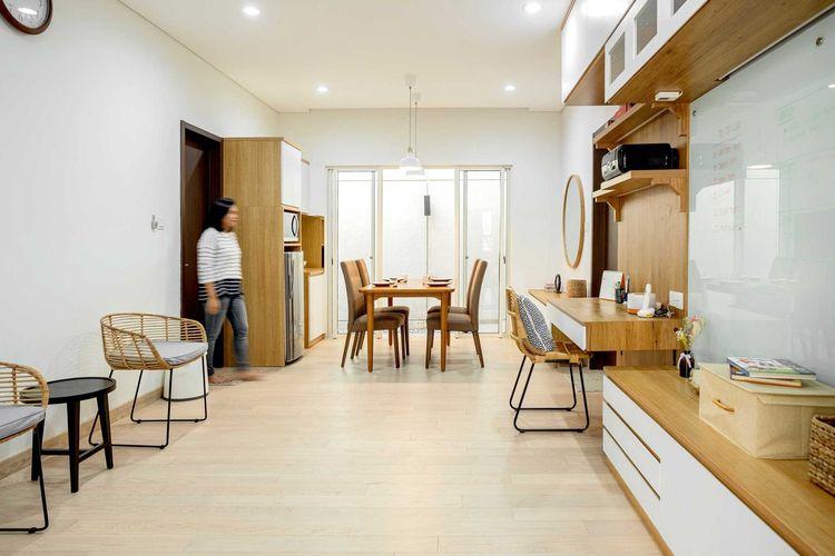 Desain interior rumah minimalis karya Fiano Modern Interior