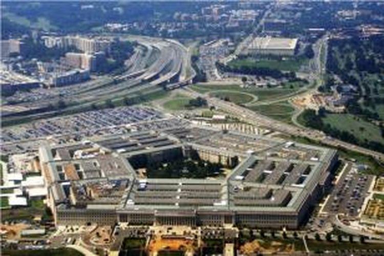 Kantor Kementerian Pertahanan AS yang lebih dikenal dengan nama Pentagon.
