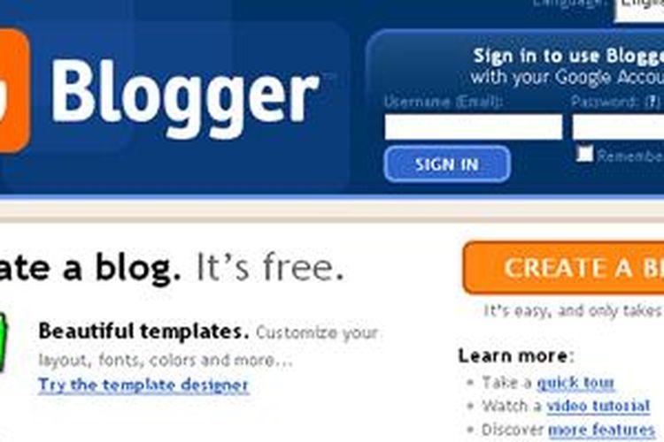 Ilustrasi Blogspot