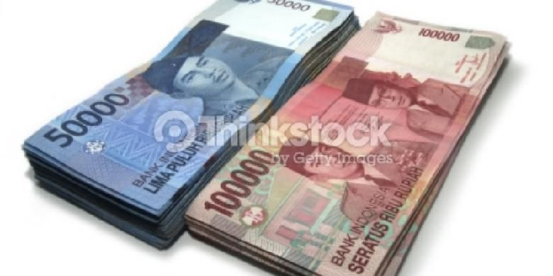 Ilustrasi rupiah.