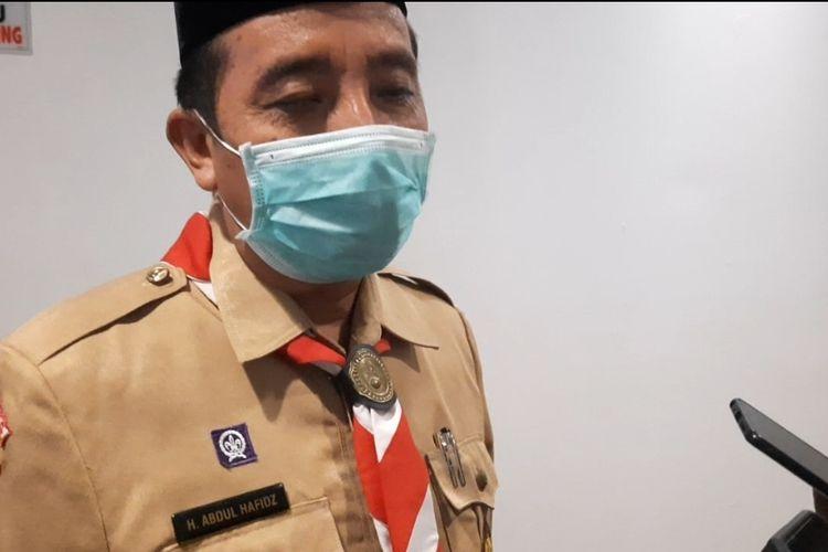 Bupati Rembang, Abdul Hafidz menolak rencana pemerintah terkait impor beras, ditemui di Kantor Bupati Rembang, Selasa (23/3/2021)
