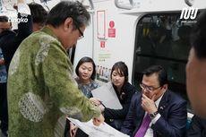 Jajal MRT Jakarta, Menteri Jepang Lirik Koridor Timur-Barat