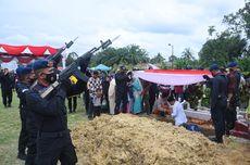 Bharada Muhammad Kurniadi Korban KKB Dimakamkan di TMP Aceh Tamiang, Kapolres: Kami Kehilangan Salah Satu Putra Terbaik