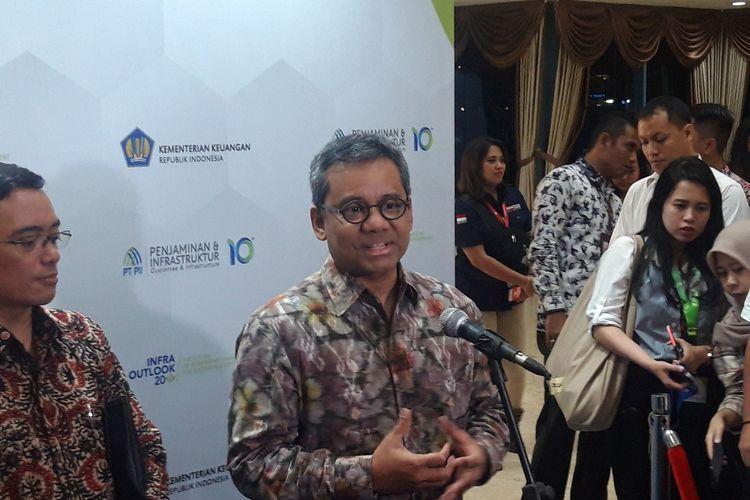 Wakil Menteri Keuangan Suahasil Nazara di Jakarta, Senin (9/3/2020).