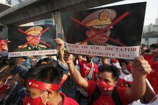 Para Petugas Medis Myanmar Mogok Kerja sebagai Protes Kudeta Militer