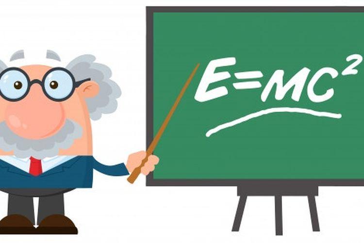 Rumus Einstein, E=MC2