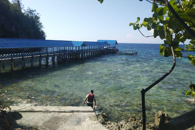 Kepulauan Togean merupakan tempat destinasi wisata yang menawarkan keindahan bawah laut, dan wisata alam lainnya, Kamis (14/11/2019)