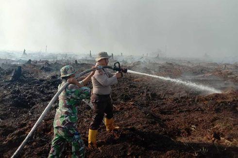Karhutla Mulai Muncul di Riau, Lahan Gambut di Pelalawan Terbakar