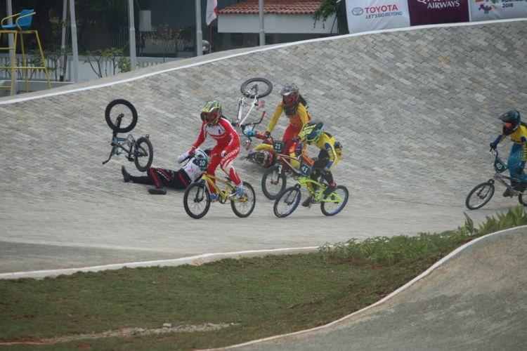 Pebalap BMX I Gusti Bagus Saputra